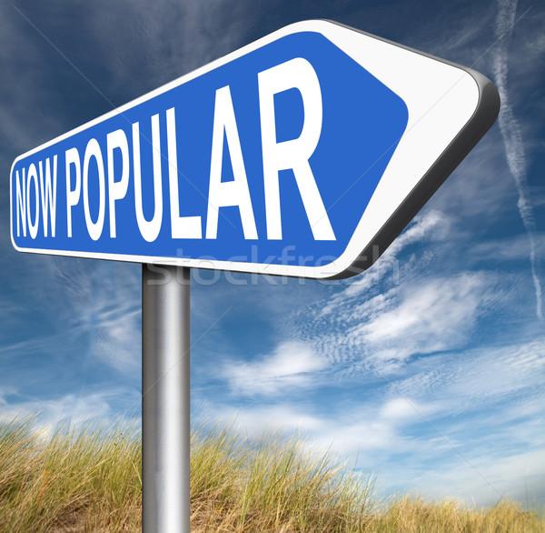 Népszerű most trendek divat trend termék Stock fotó © kikkerdirk