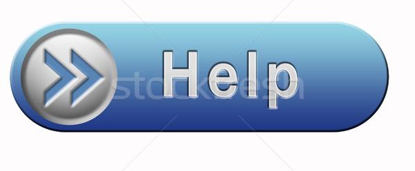help icon Stock photo © kikkerdirk