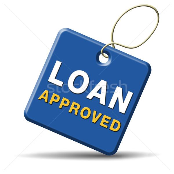 loan approved Stock photo © kikkerdirk