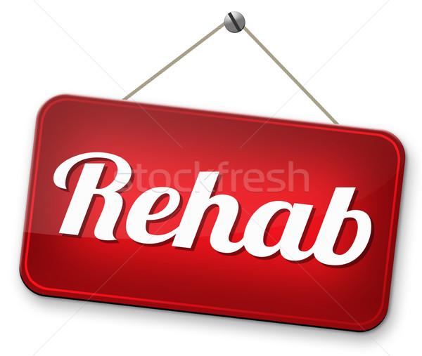 rehabilitation Stock photo © kikkerdirk