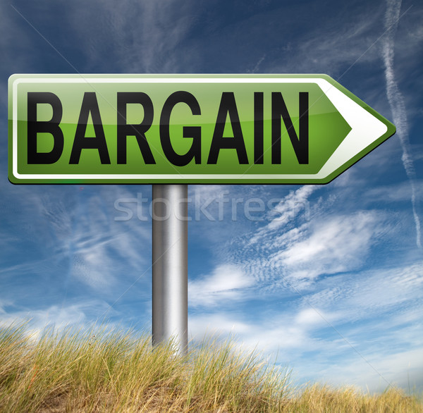 bargain Stock photo © kikkerdirk