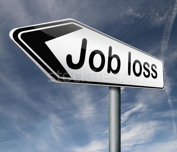 job loss Stock photo © kikkerdirk