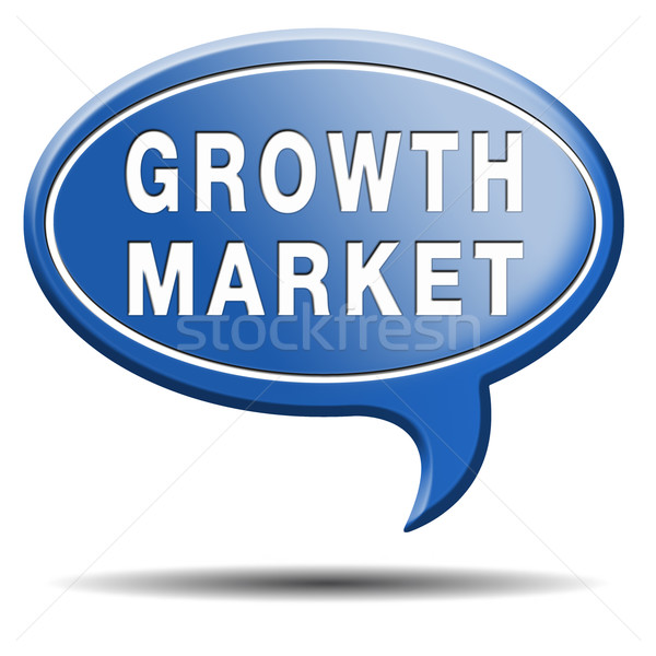 growth market Stock photo © kikkerdirk