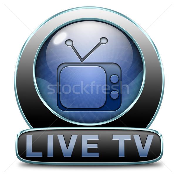 live tv Stock photo © kikkerdirk