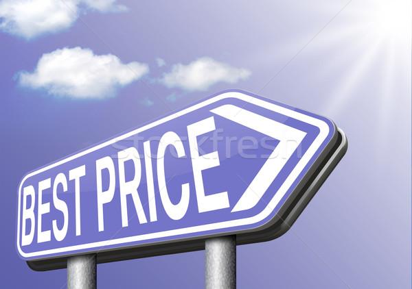 Legjobb ár felirat webshop vásárlás promóció jelzőtábla Stock fotó © kikkerdirk