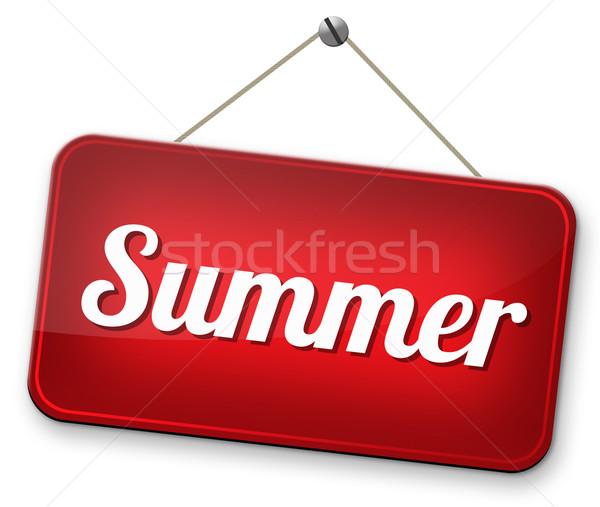 Foto stock: Verão · tempo · férias · férias · desfrutar · sol