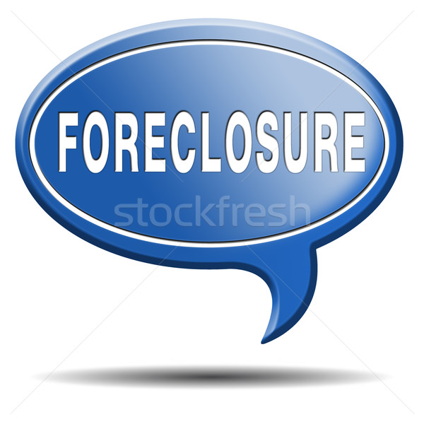 foreclosure Stock photo © kikkerdirk