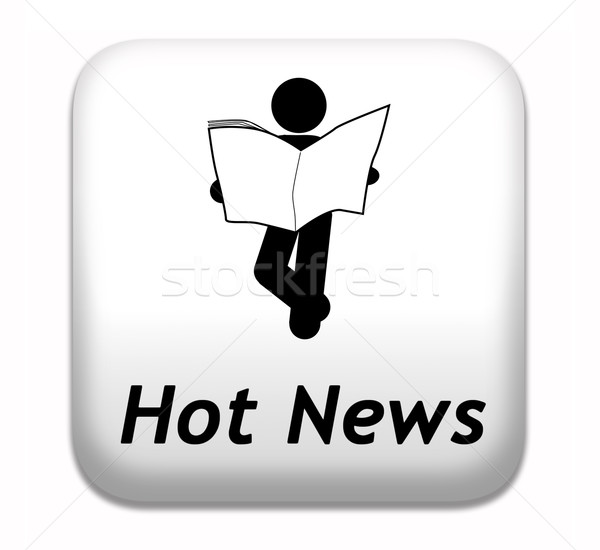 hot daily breaking news Stock photo © kikkerdirk