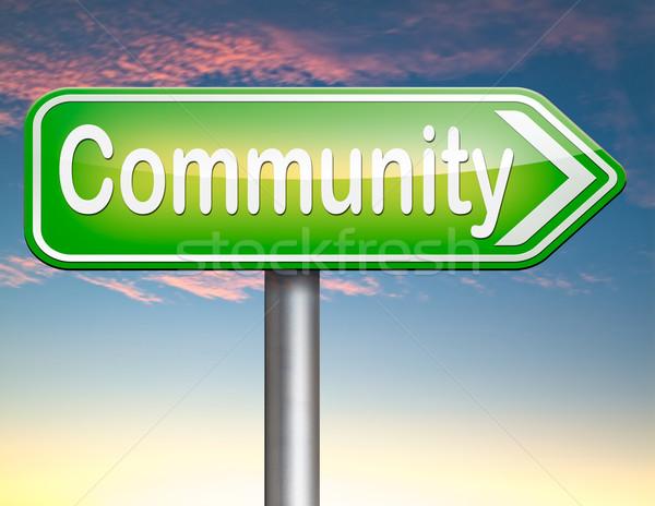 community Stock photo © kikkerdirk