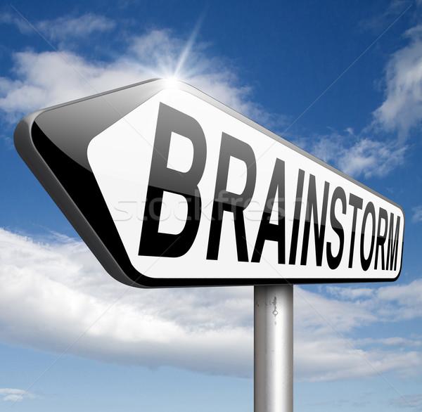 brainstorm Stock photo © kikkerdirk