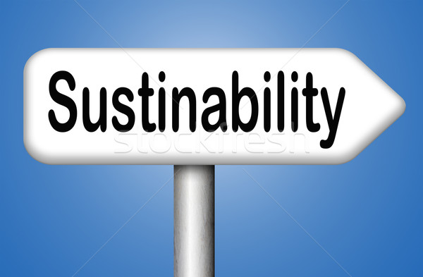 Stock photo: sustainability