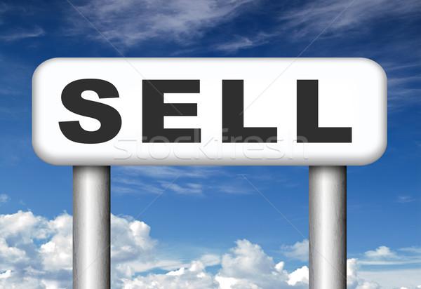Elad online termékek internet webshop háló Stock fotó © kikkerdirk