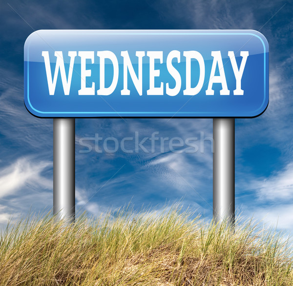 Wednesday Stock photo © kikkerdirk