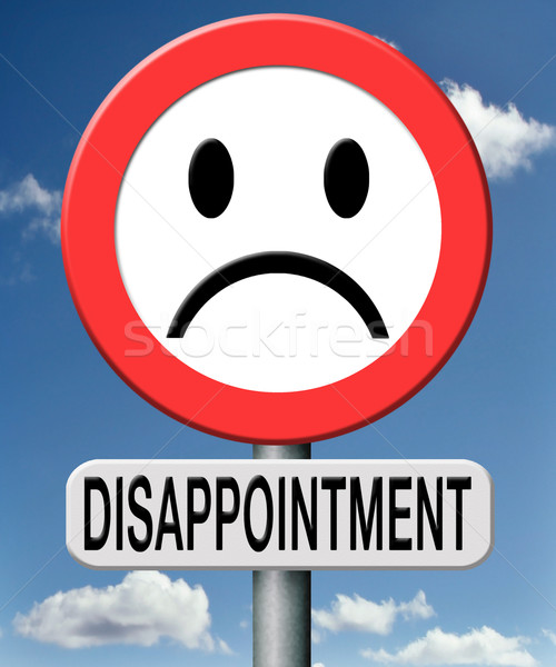 Csalódás csalódott emberek márka templom társadalom Stock fotó © kikkerdirk