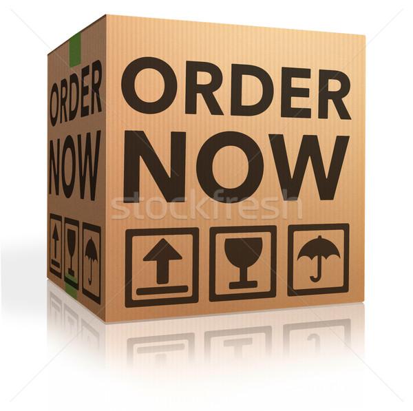 Om nu kopen hier online webshop Stockfoto © kikkerdirk