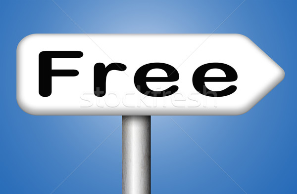 свободный продукт образец предлагать бесплатно скачать Сток-фото © kikkerdirk