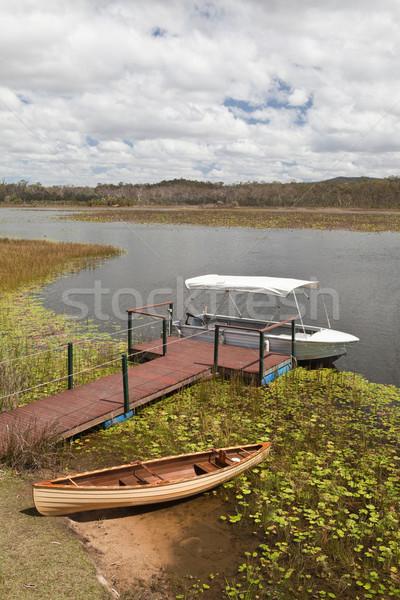Mareeba wetlands panorama Stock photo © kikkerdirk