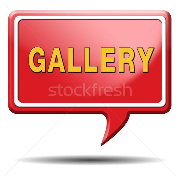 Galerii portfela zdjęcia zdjęcia obrazy zdjęć Zdjęcia stock © kikkerdirk