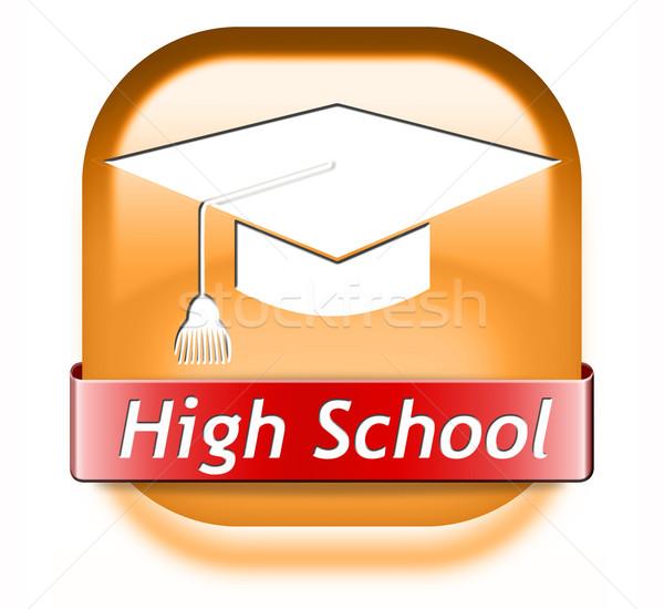 high school Stock photo © kikkerdirk