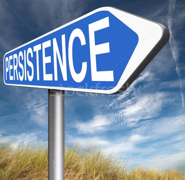 persistence Stock photo © kikkerdirk