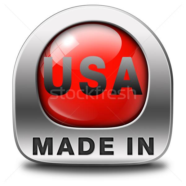 США оригинальный американский продукт купить местный Сток-фото © kikkerdirk