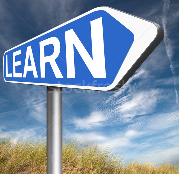 Stock photo: learn online