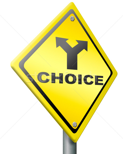 choice decision choose indecisive Stock photo © kikkerdirk