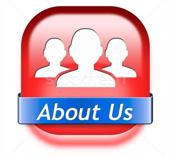 about us Stock photo © kikkerdirk