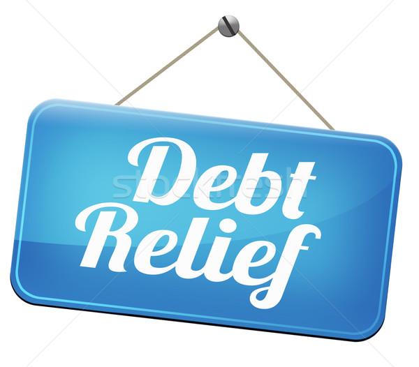Сток-фото: долг · рельеф · банкротство · кредитных · жилье · пузырьки