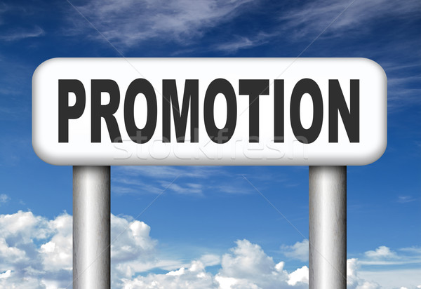 Stock photo: promotion