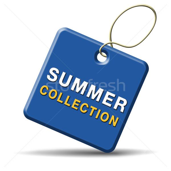 summer collection Stock photo © kikkerdirk