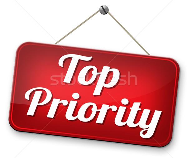 Top priorità alto urgente segreto info Foto d'archivio © kikkerdirk