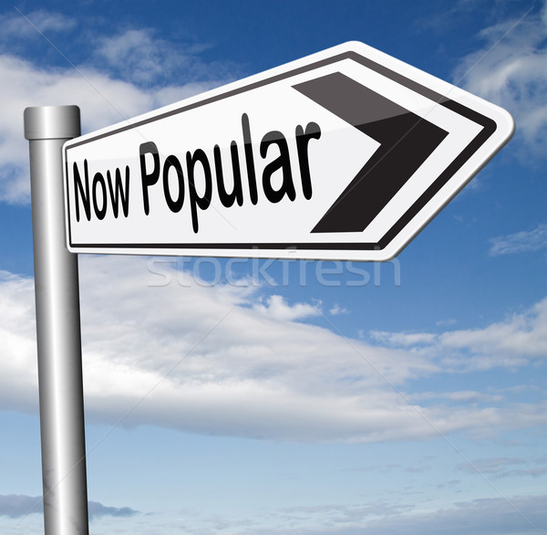 popular now trending Stock photo © kikkerdirk