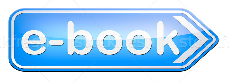 電子ブック ダウンロード を読む を 電子 図書 ストックフォト © kikkerdirk