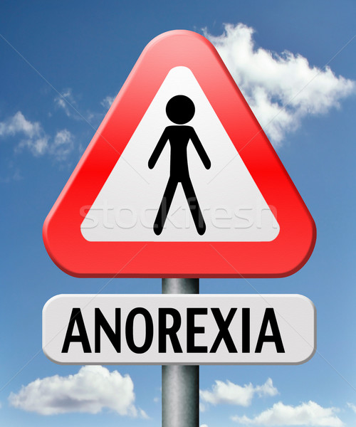 anorexia Stock photo © kikkerdirk