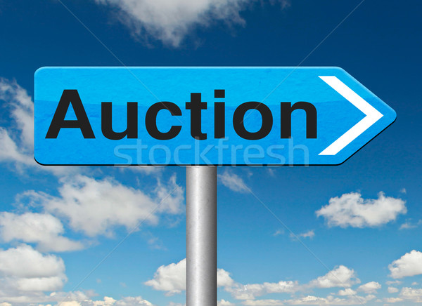internet auction Stock photo © kikkerdirk