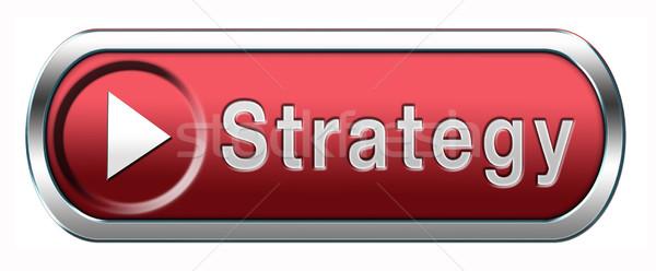 strategy Stock photo © kikkerdirk