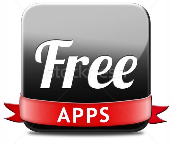 free apps Stock photo © kikkerdirk