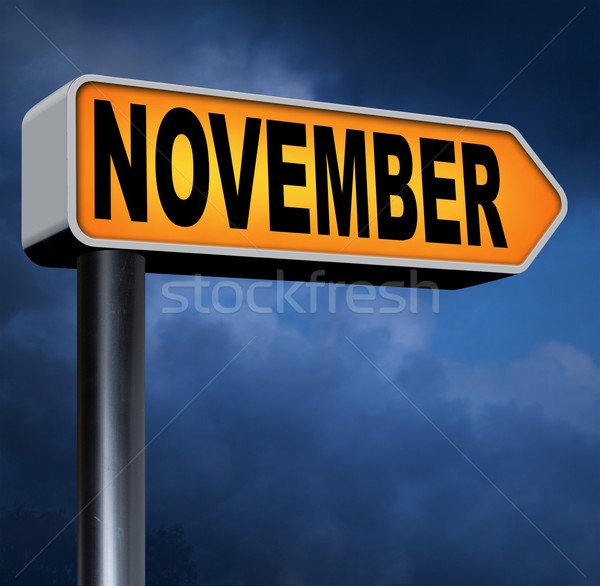 november Stock photo © kikkerdirk