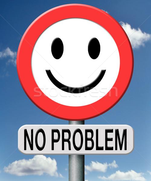 no problem Stock photo © kikkerdirk