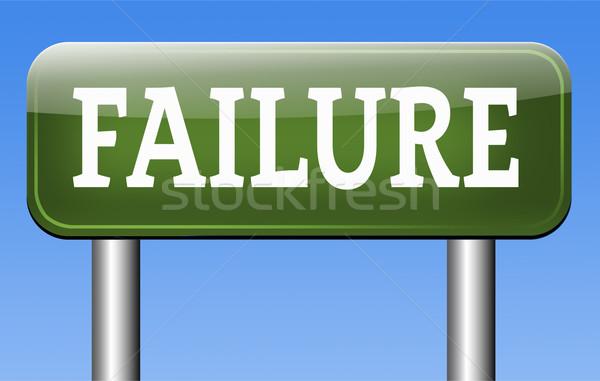 fail test Stock photo © kikkerdirk