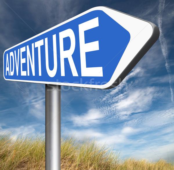 Aventura aventureiro natureza férias viajar Foto stock © kikkerdirk