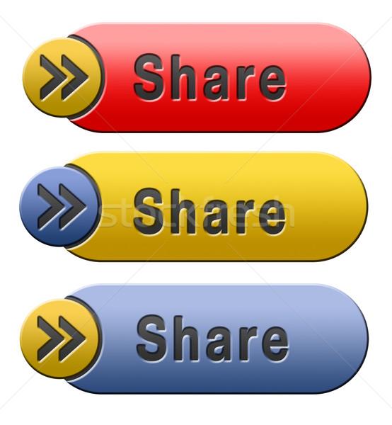 share button Stock photo © kikkerdirk
