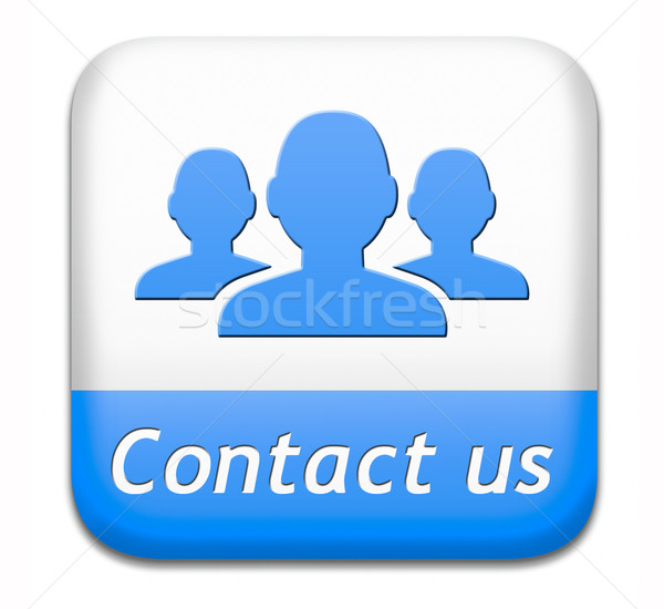 contact us button Stock photo © kikkerdirk