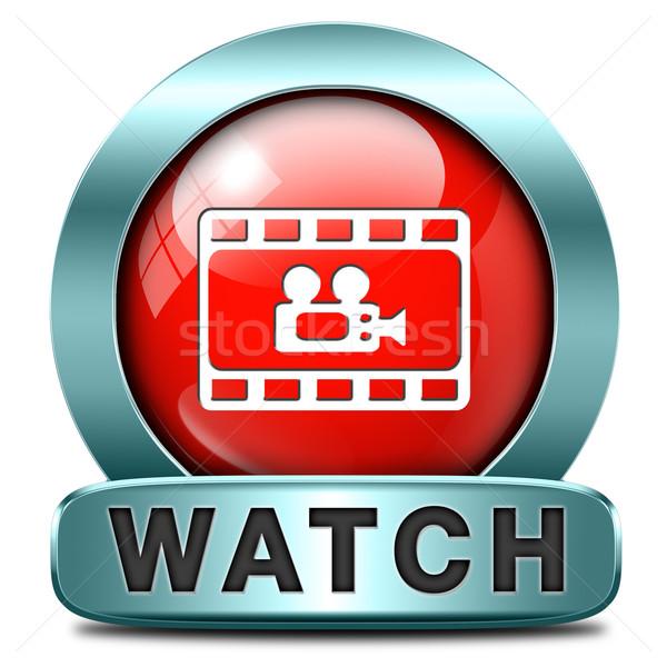 óra film videó játék gemkapocs online Stock fotó © kikkerdirk