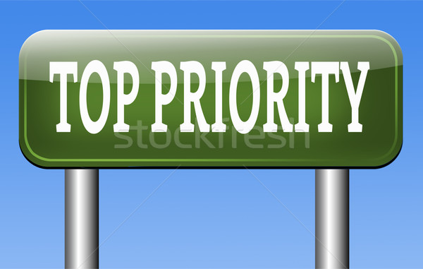 top priority Stock photo © kikkerdirk