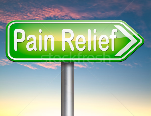 Fájdalom megkönnyebbülés vezetőség fájdalomcsillapító egyéb kezelés Stock fotó © kikkerdirk