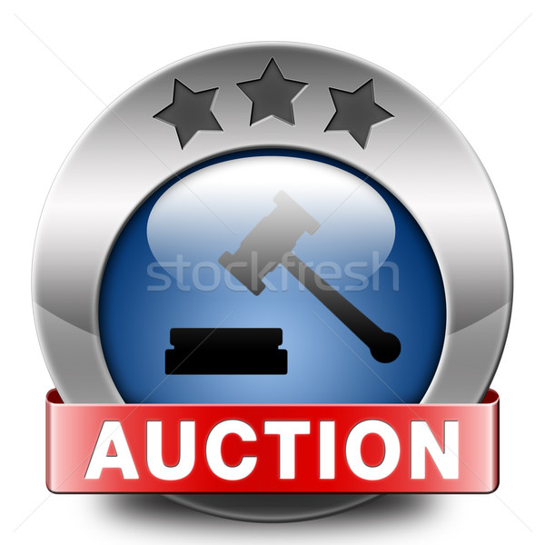 auction Stock photo © kikkerdirk