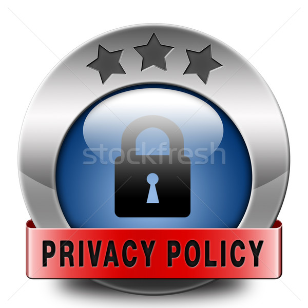 privacy policy Stock photo © kikkerdirk