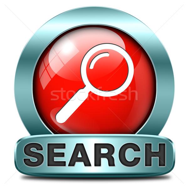 search icon Stock photo © kikkerdirk